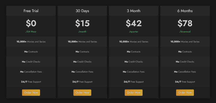 breaking cable pricing