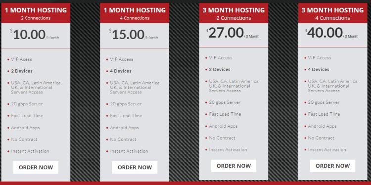 cobra iptv pricing