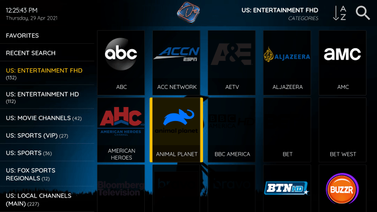 One of the best features within the Dezo IPTV service is the ability to add channels to Favorites.
