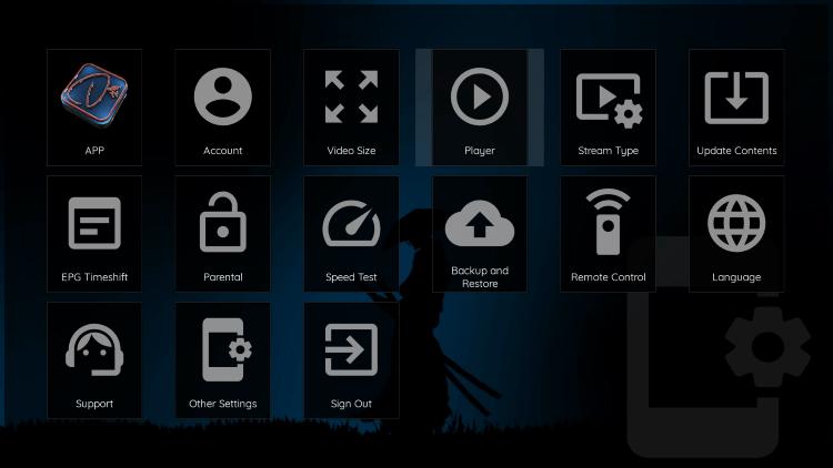 Select Player.