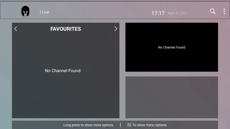That's it! You can now add/remove channels from Favorites within the gladiator hosting iptv service