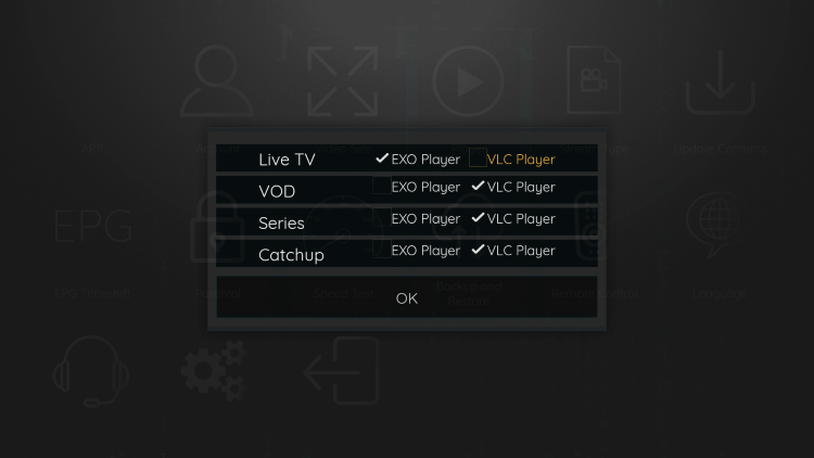 Choose VLC Player.