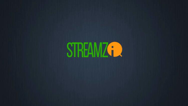 Launch Streamz IQ IPTV.