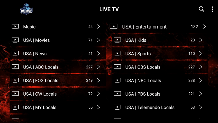 Every subscription plan comes with over 10,000 live channels and other offerings.