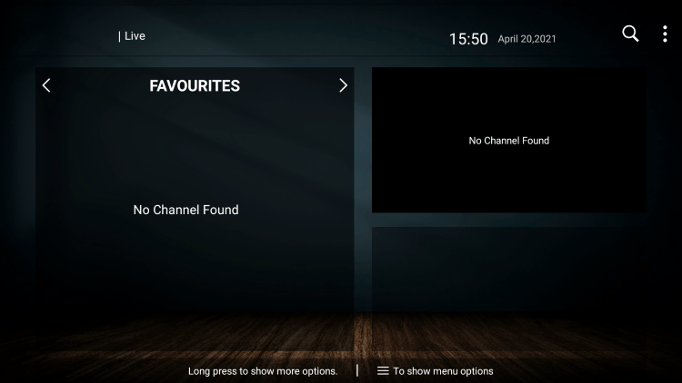 That's it! You can now add/remove channels from Favorites within the willow hosting iptv service
