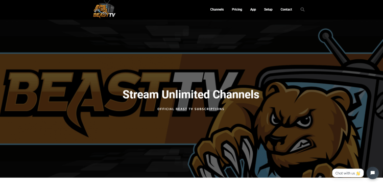 Prior to using the Beast IPTV service, you will need to register for an account on their website.