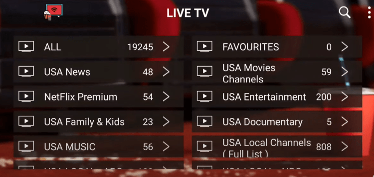 Cola IPTV provides over 18,000 live channels starting at $12.00/month with their standard plan.