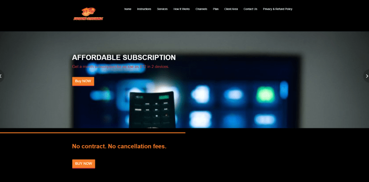 Prior to using the Fusion Streamz IPTV service, you will need to register for an account on their official website.