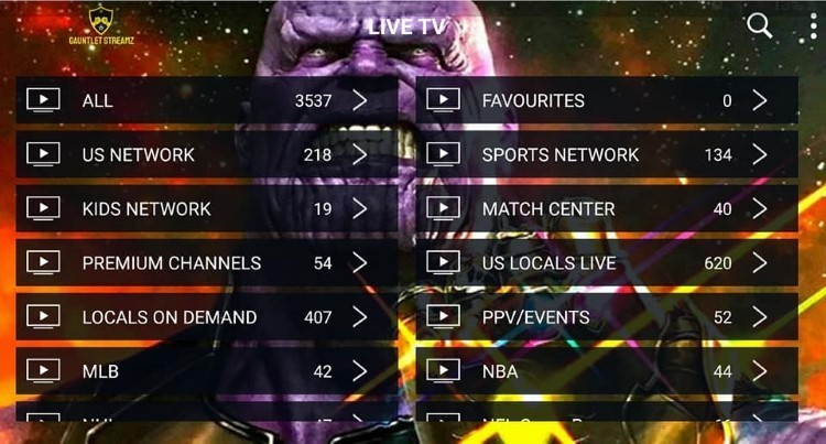 Gauntlet Streamz IPTV provides over 4,000 live channels starting at $10.00/month with their standard plan.