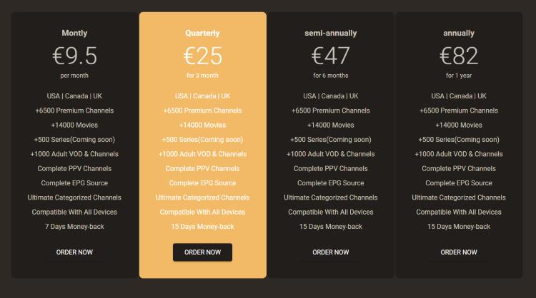 helix iptv pricing