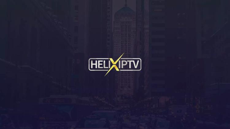Launch the Helix IPTV app.