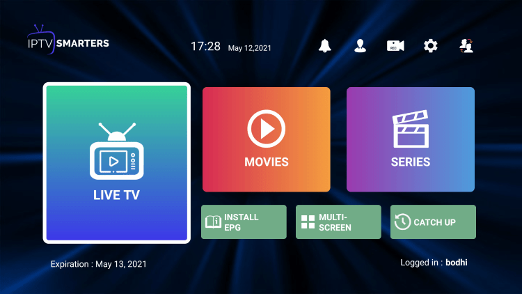 That's it! You have installed Joy IPTV on your device.