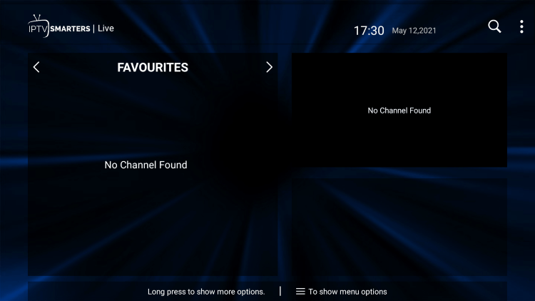 That's it! You can now add/remove channels from Favorites within joy iptv