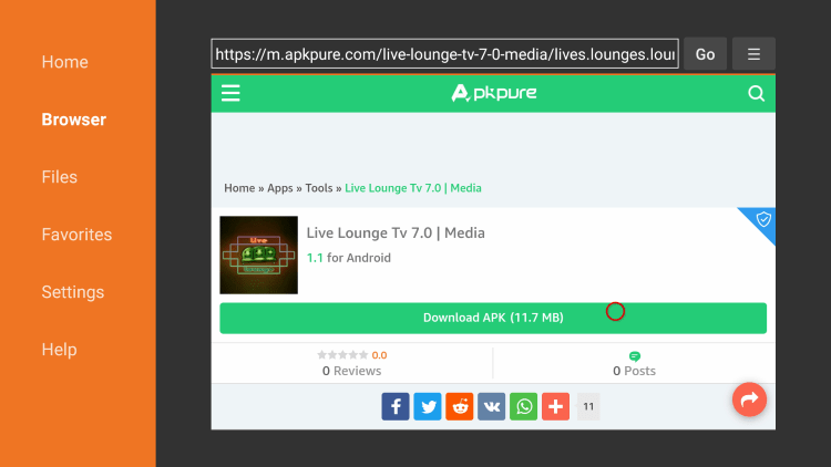 live lounge apk website