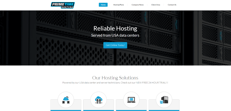 Prior to using the Primetime Hosting IPTV service, you will need to register for an account on their official website.