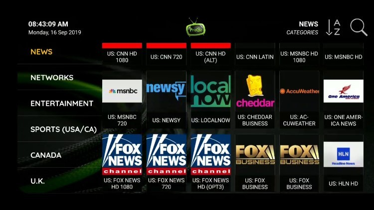 progotv channels