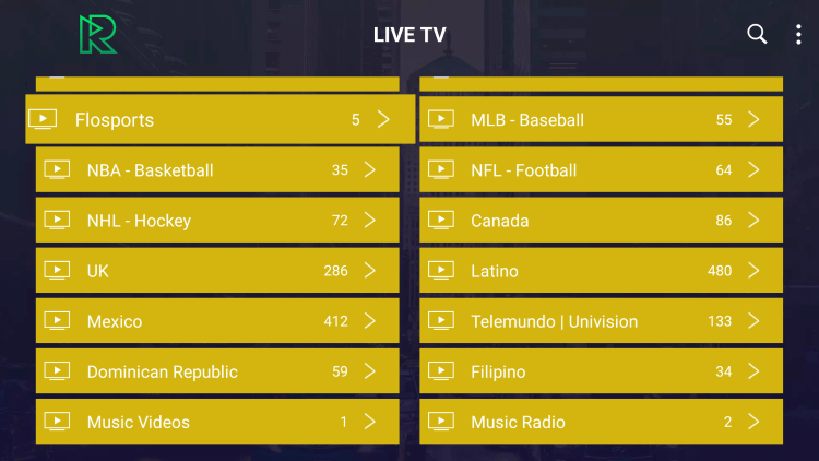 This includes over 4,000 live channels and VOD options with any subscription.