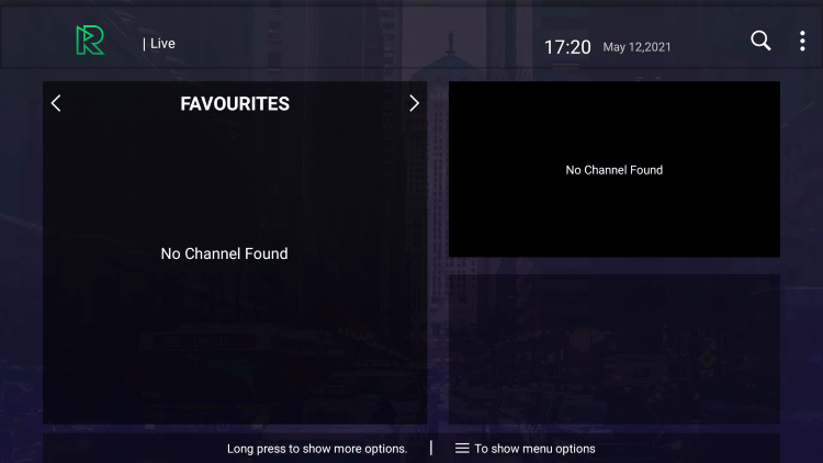 That's it! You can now add/remove channels from Favorites within the reactive iptv service
