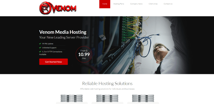 Prior to using the Venom IPTV service, you will need to register for an account on their official website.