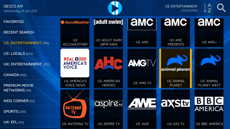 Viper IPTV provides over 1,000 live channels starting at $24.95/month with their standard plan.