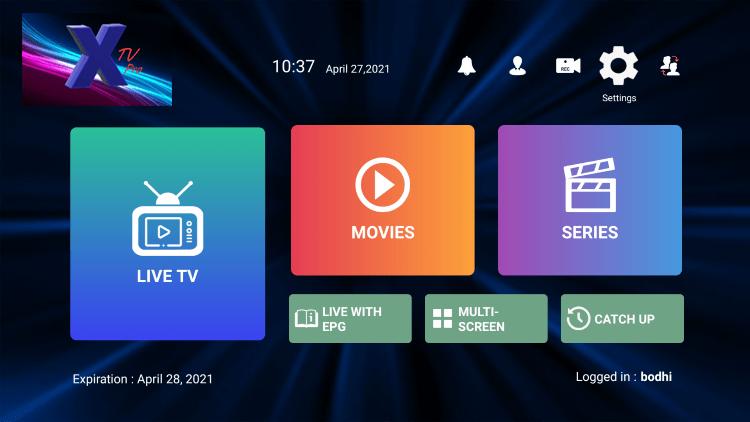 x tv iptv