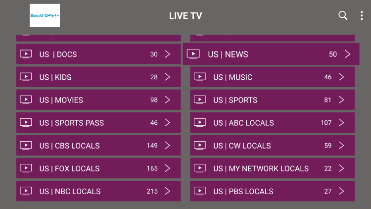As mentioned previously, Best USA IPTV provides over 7,000 live channels starting for $6.00/month with their standard plan.