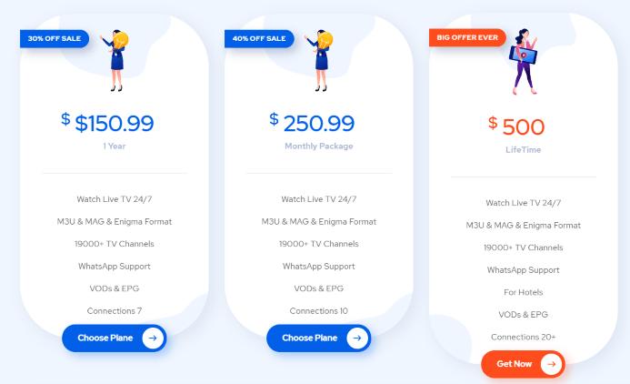 premium subscription plans