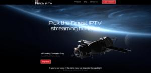 iron iptv website