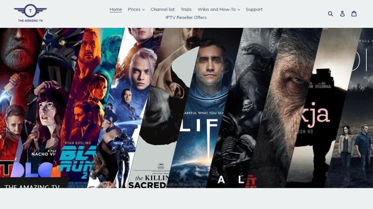 the amazing tv website