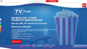 tv team iptv website