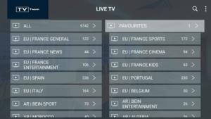 tv team iptv channels