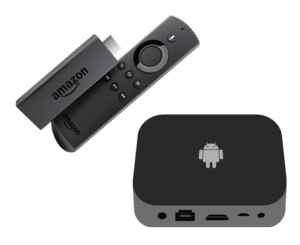 IPTV providers are usually available as stand-alone apps that work best on inexpensive Android-based streaming devices such as Amazon Fire TV Stick, Android TV Boxes, or any IPTV Box.