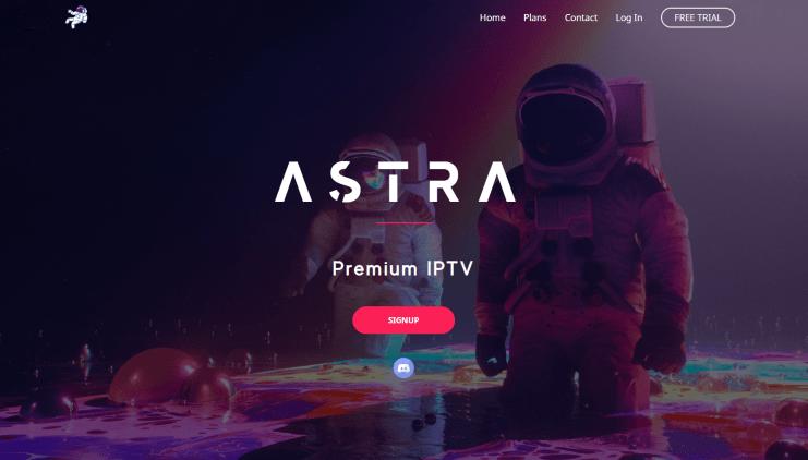 astra iptv website