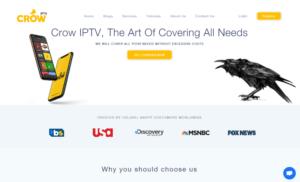crow iptv website