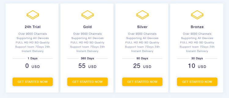 crow iptv pricing