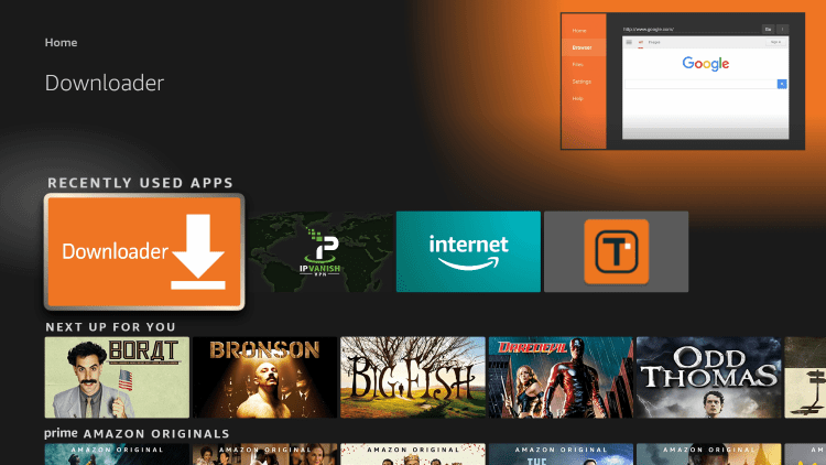 The steps below show how to install Kodi on any Firestick or Fire TV device.