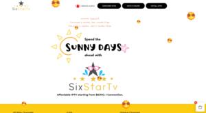 six star iptv website