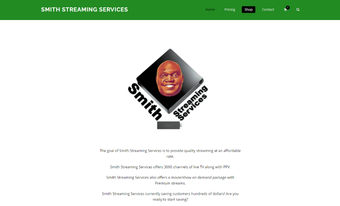 smith streaming services website