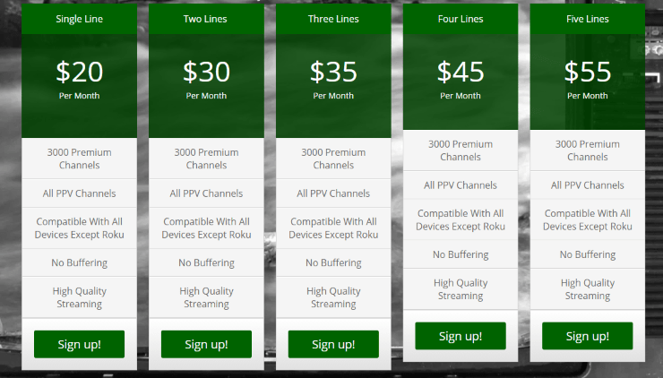 smith streaming services pricing