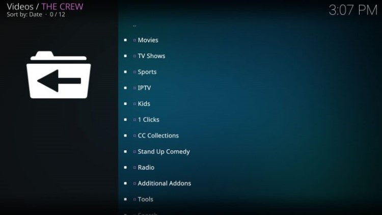 The Crew Kodi Addon is widely considered as one of the best Kodi Addons for live TV.