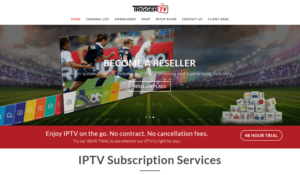 trigger iptv website