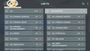 enigma iptv channels