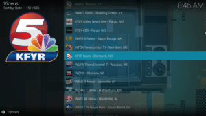 free live tv kodi addon