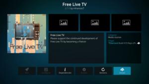 free live tv kodi addon firestick
