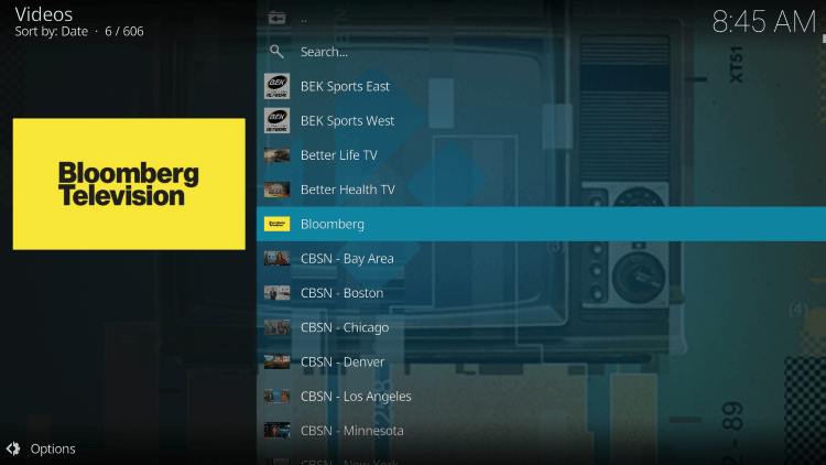 Free Live TV Kodi Addon is widely considered one of the best Kodi Addons for live TV.