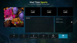 mad titan sports kodi addon firestick