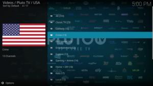pluto tv kodi addon live tv