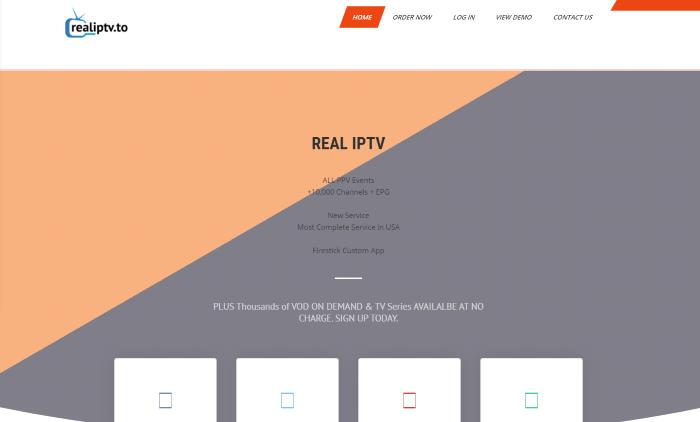 real iptv website