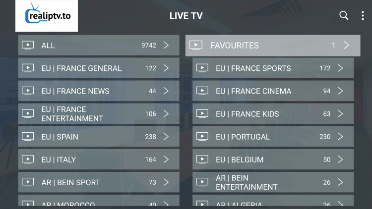 real iptv channels