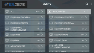 real streams iptv channels